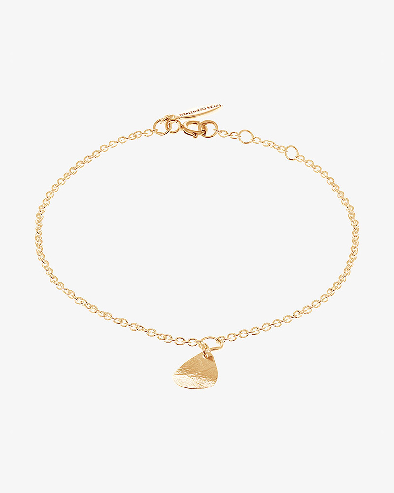 Leaf-drop-bracelet-gold