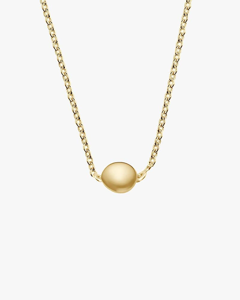 Stardust-drop-necklace-polished-gold